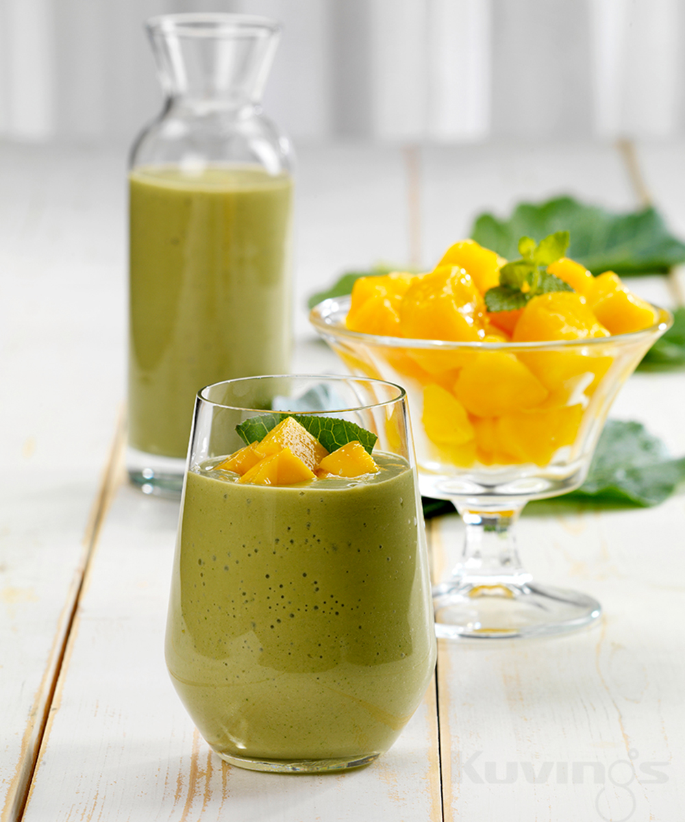 Slow Juicer Mango : Smoothie mango e cavolo nero - Kuvings Italia